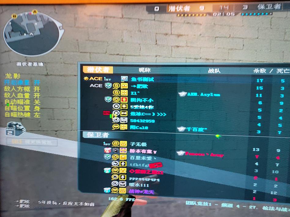 CF龙影助手 v7.10透视自瞄/显示血量/免费版