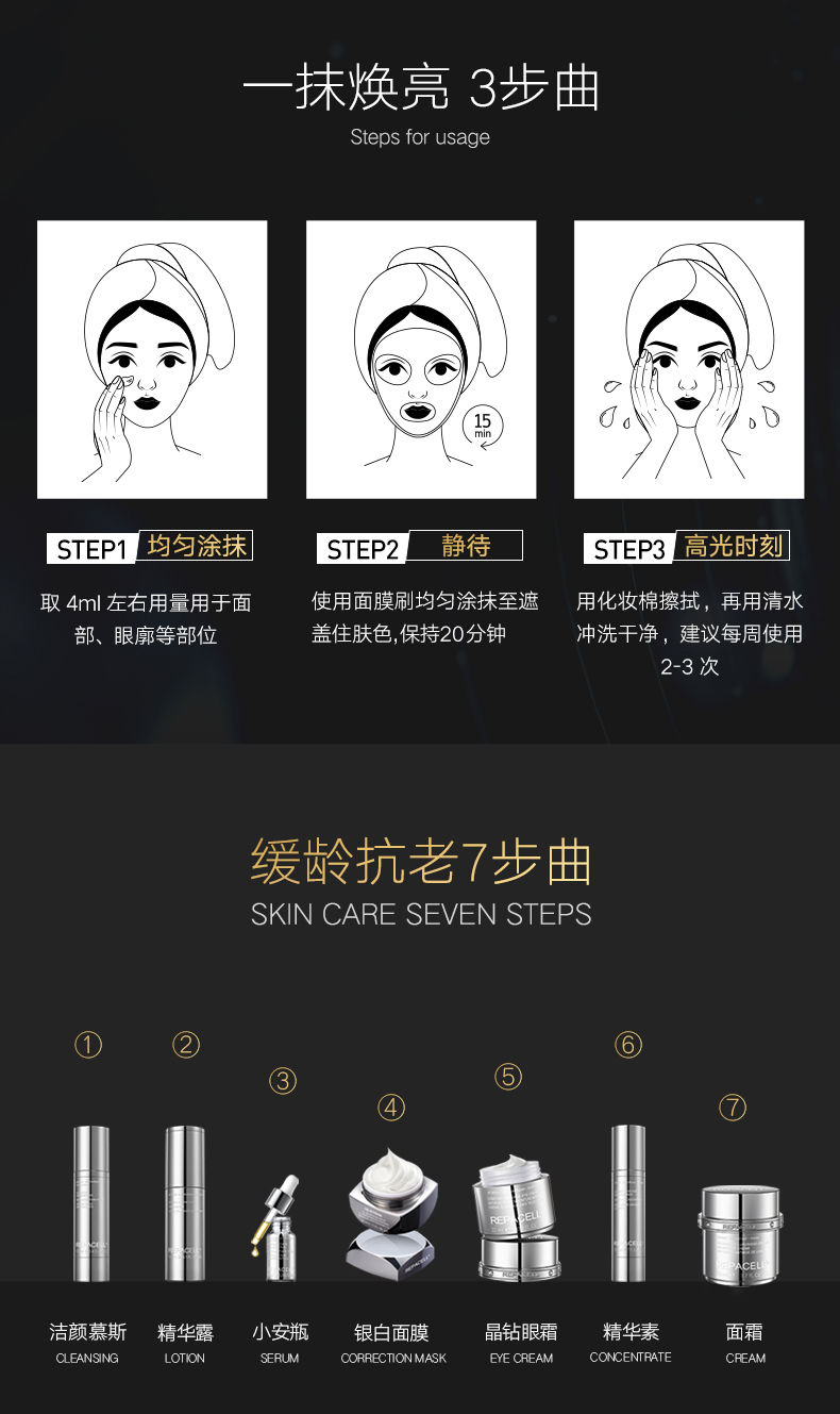 repacell面膜怎么样